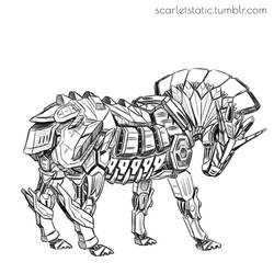 Gundam Horse