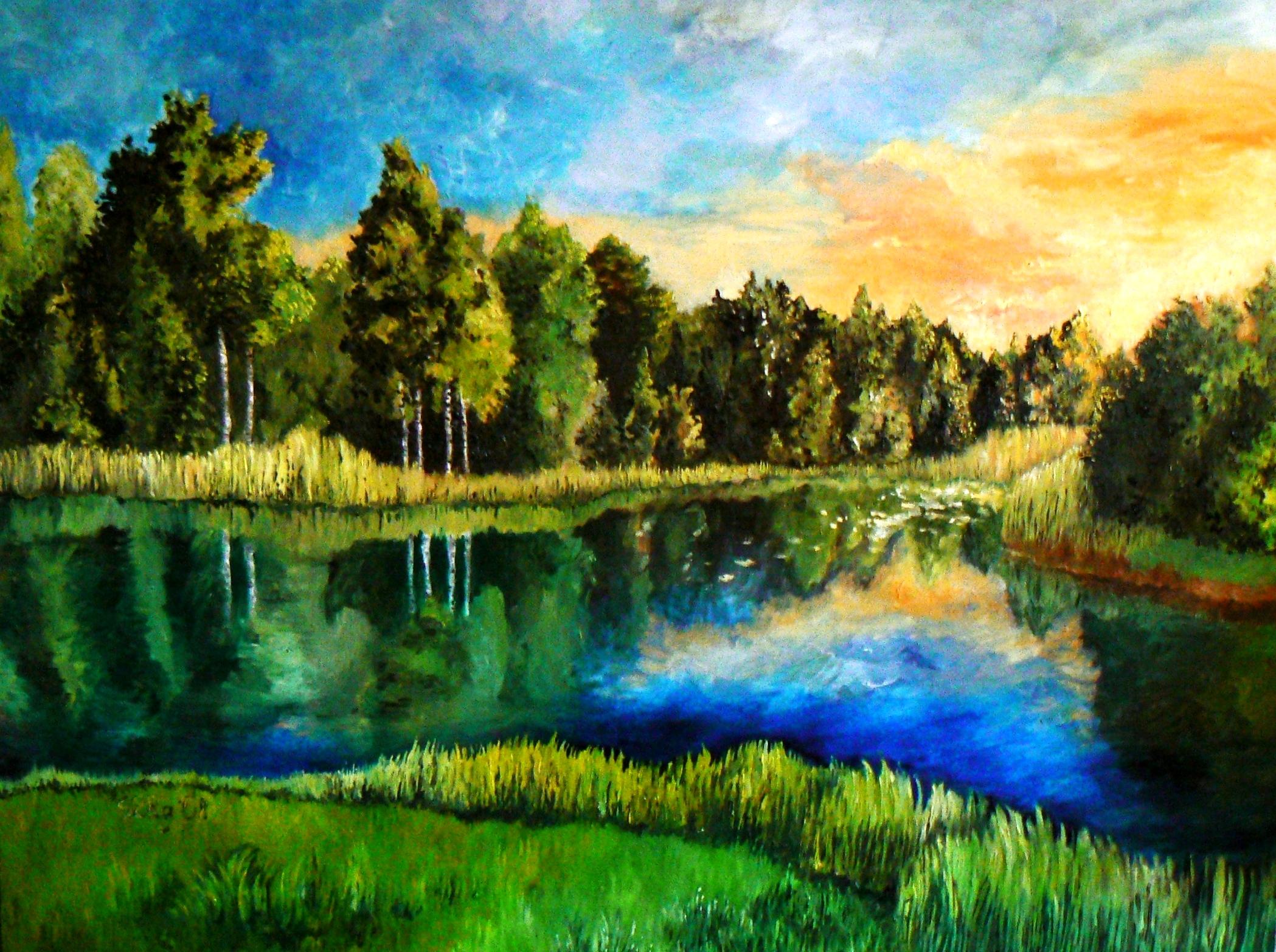 Estonian landscape by DoodleWithGlueGun on DeviantArt