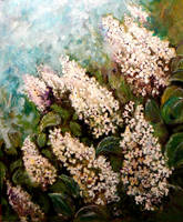 White Lilacs by DoodleWithGlueGun