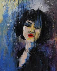 Oil portrait - night watch