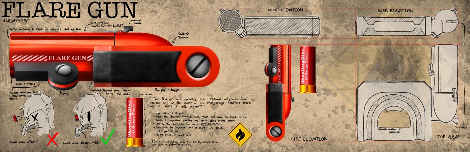 TOmS- Fo:E Flare Gun (initial) by Jasper77Wang