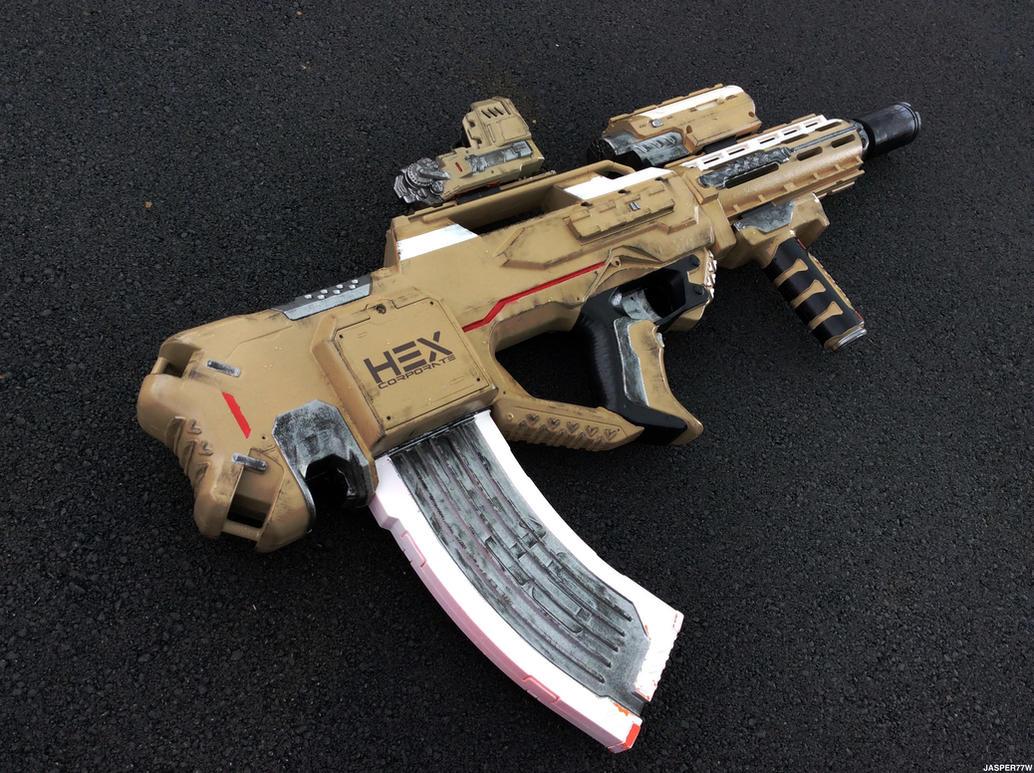 HEX Sandfly AR (Nerf Rayven) by Jasper77Wang