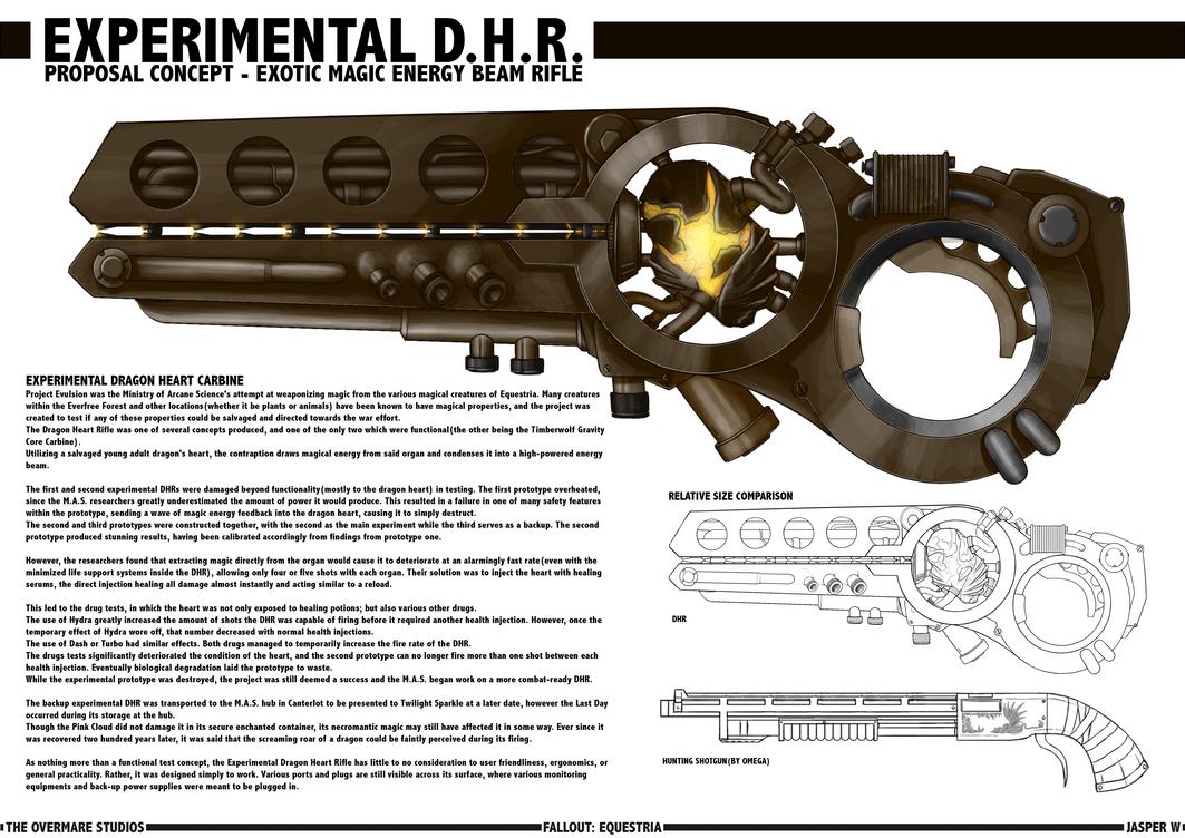 Dragon Heart Rifle [Experimental] by Jasper77Wang
