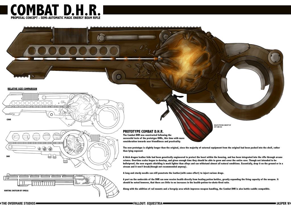 Dragon Heart Rifle [Combat] by Jasper77Wang