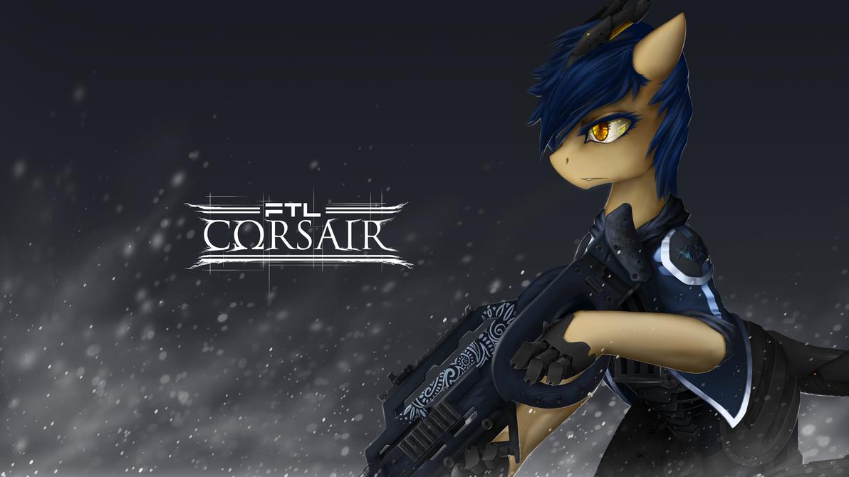 Exchange: FTL-Corsair cover art by Jasper77Wang