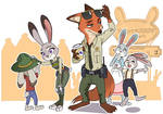 Try Everything: BSD(Bunnyburrow Sheriff)