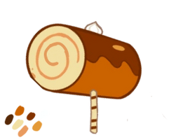 roll cake cookie hammer fullbody edit by Gamaworld