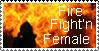 Firefightn Female by WarriorofWolvensoul