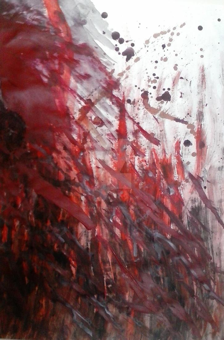 I Saw Red by MadArtStudios