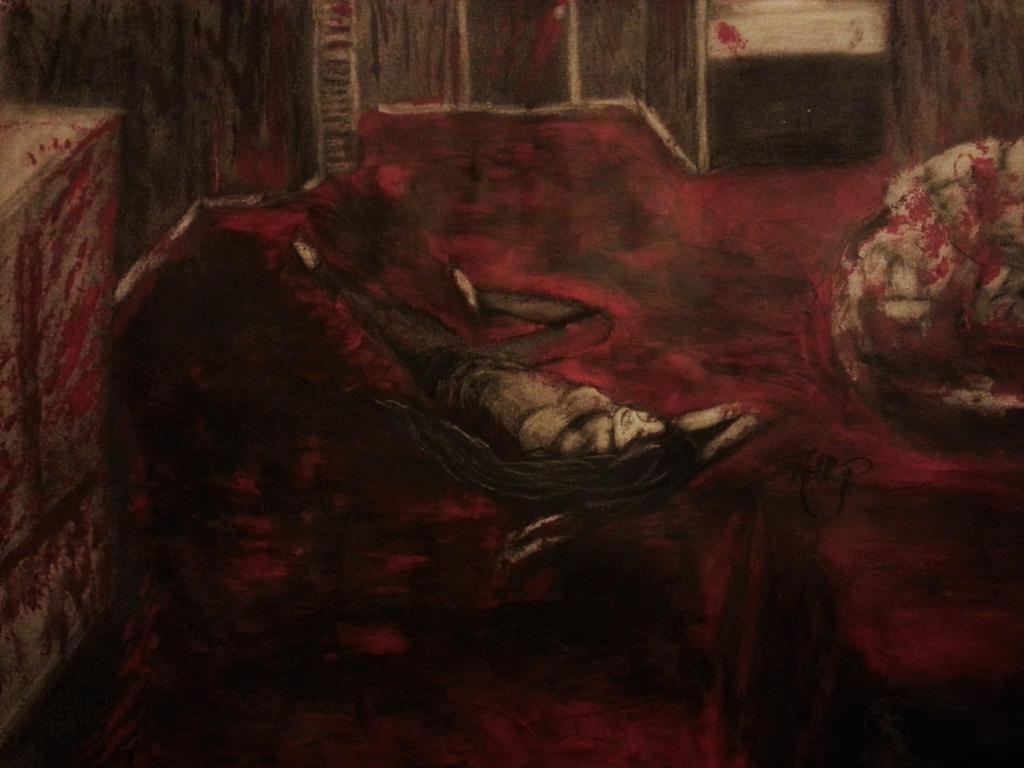 The Girl In Red by MadArtStudios