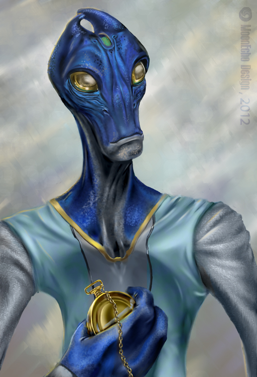 PSW - C is for....Crazy Blue Salarian by MoonEcho