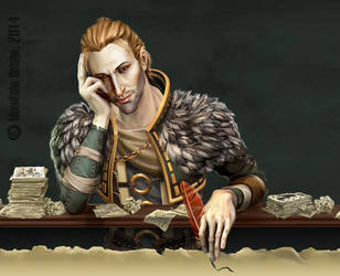 Anders Imagining by MoonEcho