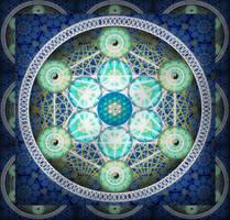 Sacred Geometry 1 by ArtOfWarStudios