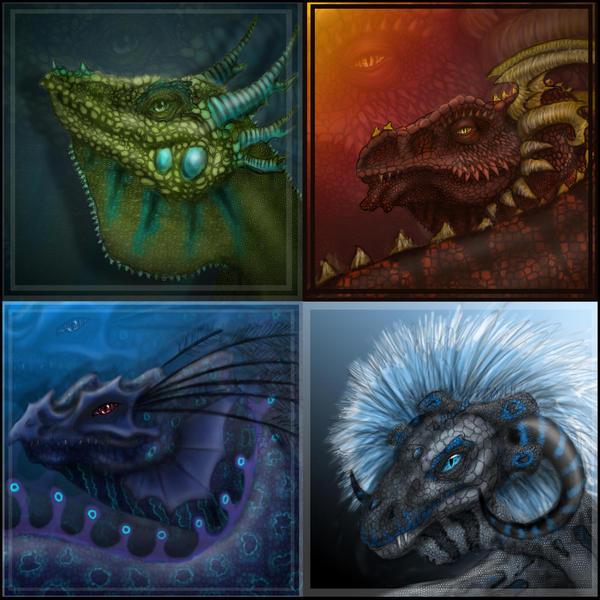 ice elemental dragons - photo #44