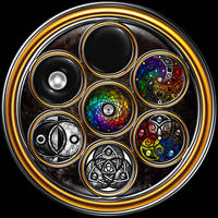 The Grand Mandala Section 1 by ArtOfWarStudios