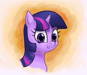 Portrait of A Twinkle Sprinkle by FriendshipIsHorses
