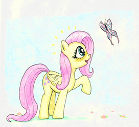 Flutterby by FriendshipIsHorses