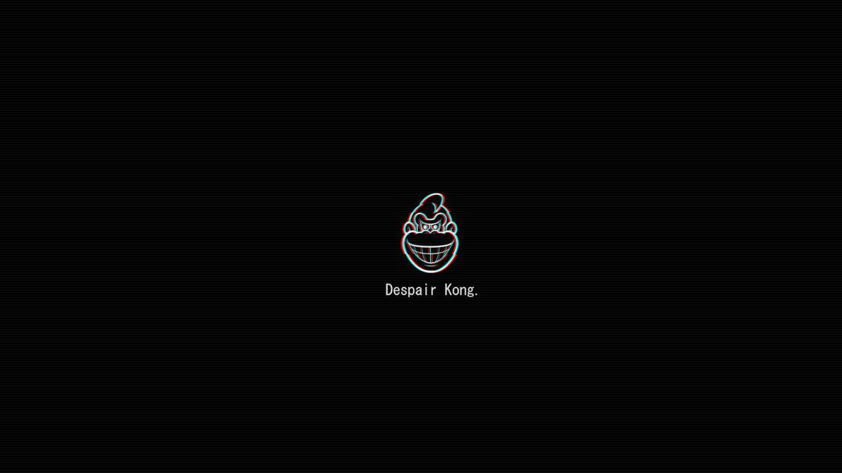 Donkey Kong (Glitch Effect) Wallpaper By DespairKong On
