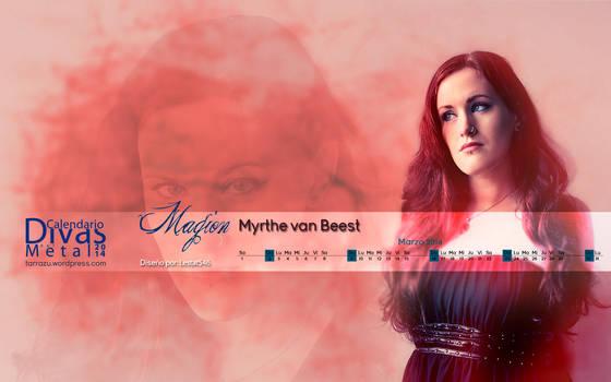 Myrthe van Beest marzo 2014