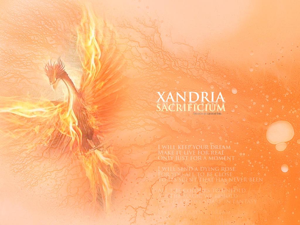 Xandria -Sacrificium- 2014 wallpaper