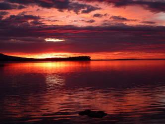 Mallacoota Sunrise 2 by backstormer