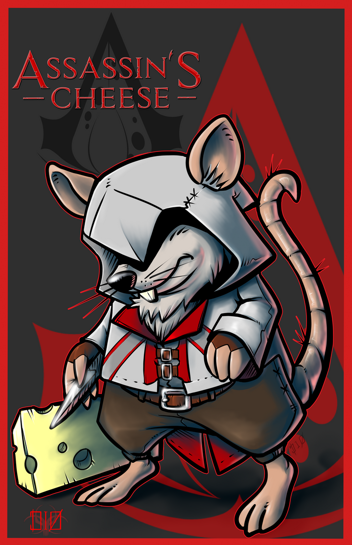 Assassin's Cheese by megachaos