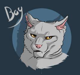 Boy by LinnyIllustrates