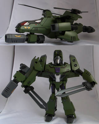 Transformers Animated Megatron by korbenn