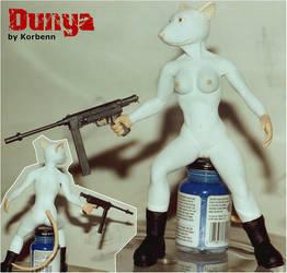 Dunya sculpture no clothing by korbenn