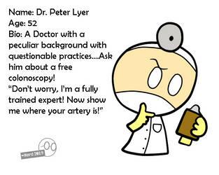 Dr. Peter Lyer by NerdyEnthusiast