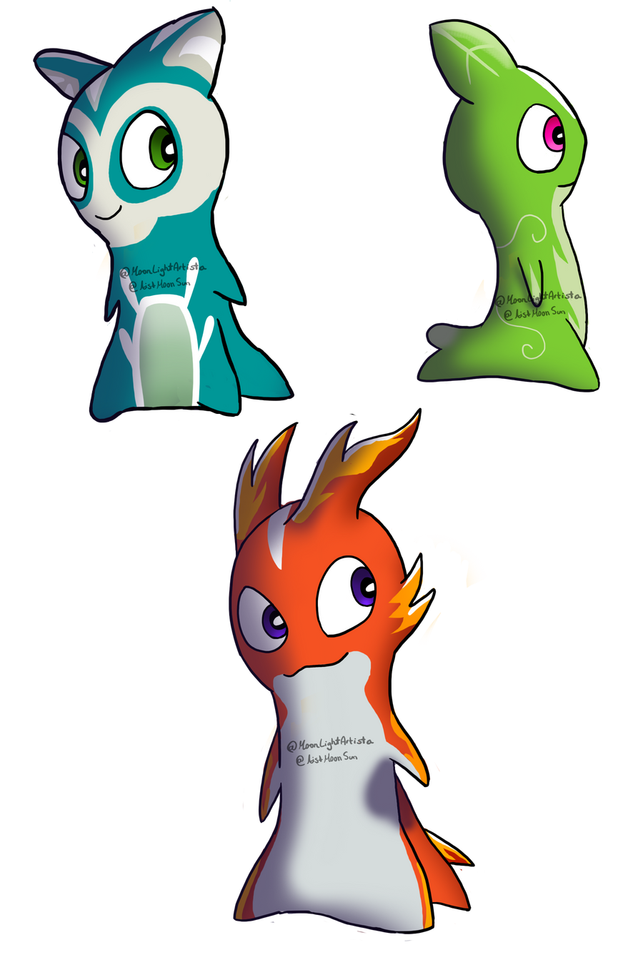 Favourite Megamorph Slugs designs by MoonLightArtista on ...