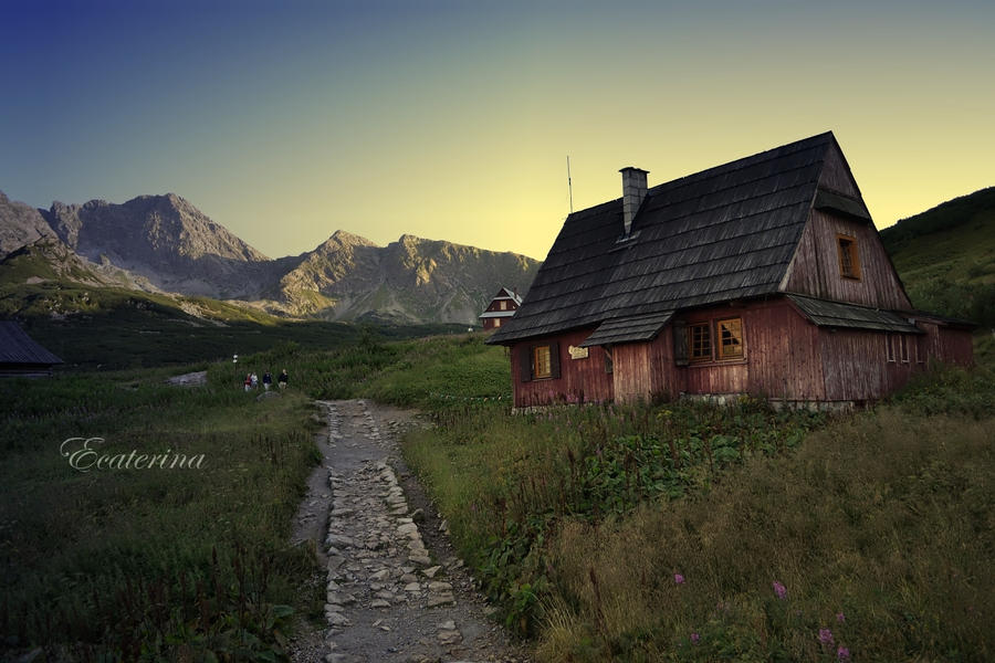 the Tatras '11 - the view by Ecaterina13