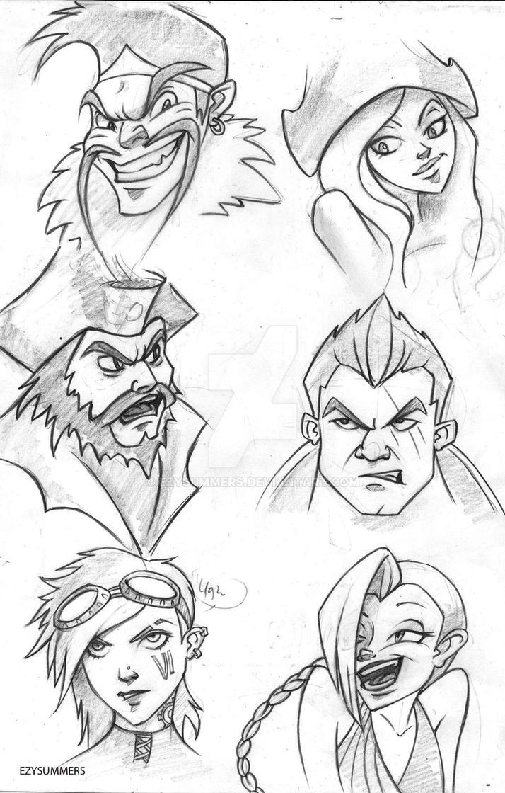 League of legends cartoon by ezysummers