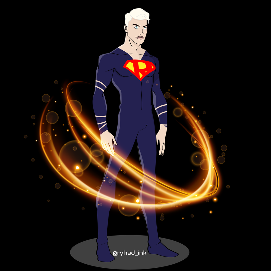 Suit Superhero Blonde - Transformation mode by RyhadInk