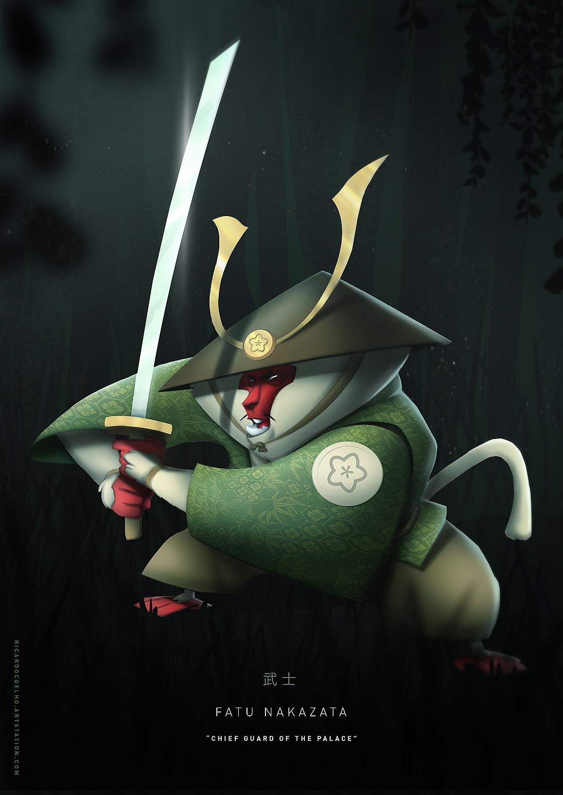 Samurai - Fatu Nakazata by RicardoCoelhoArt