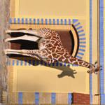 Giraffe in Wonderland