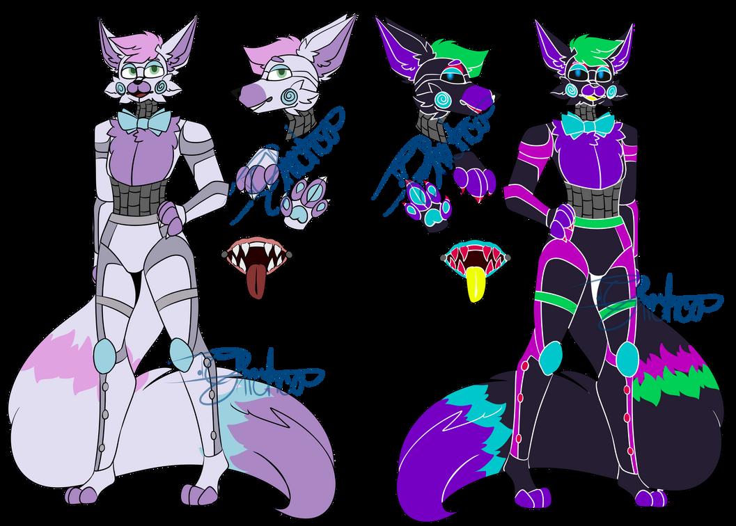 [OA] Fox Custom ((CW: Eyestrain))