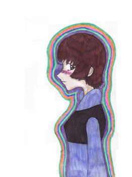 She is a rainbow