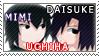 Mimi And Daisuke Uchiha Stamp by CherushiChibi