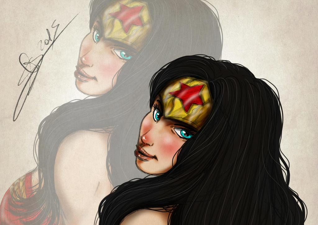 Wonder Woman 72 by lunapallida