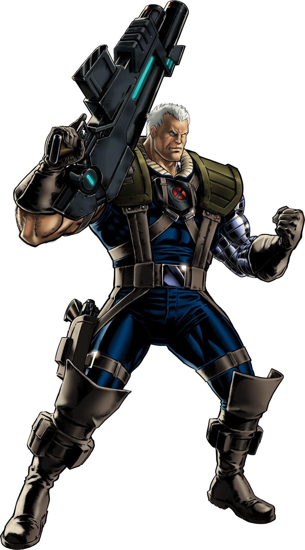 Marvel Avengers Alliance X Men Cable By Ratatrampa87 On
