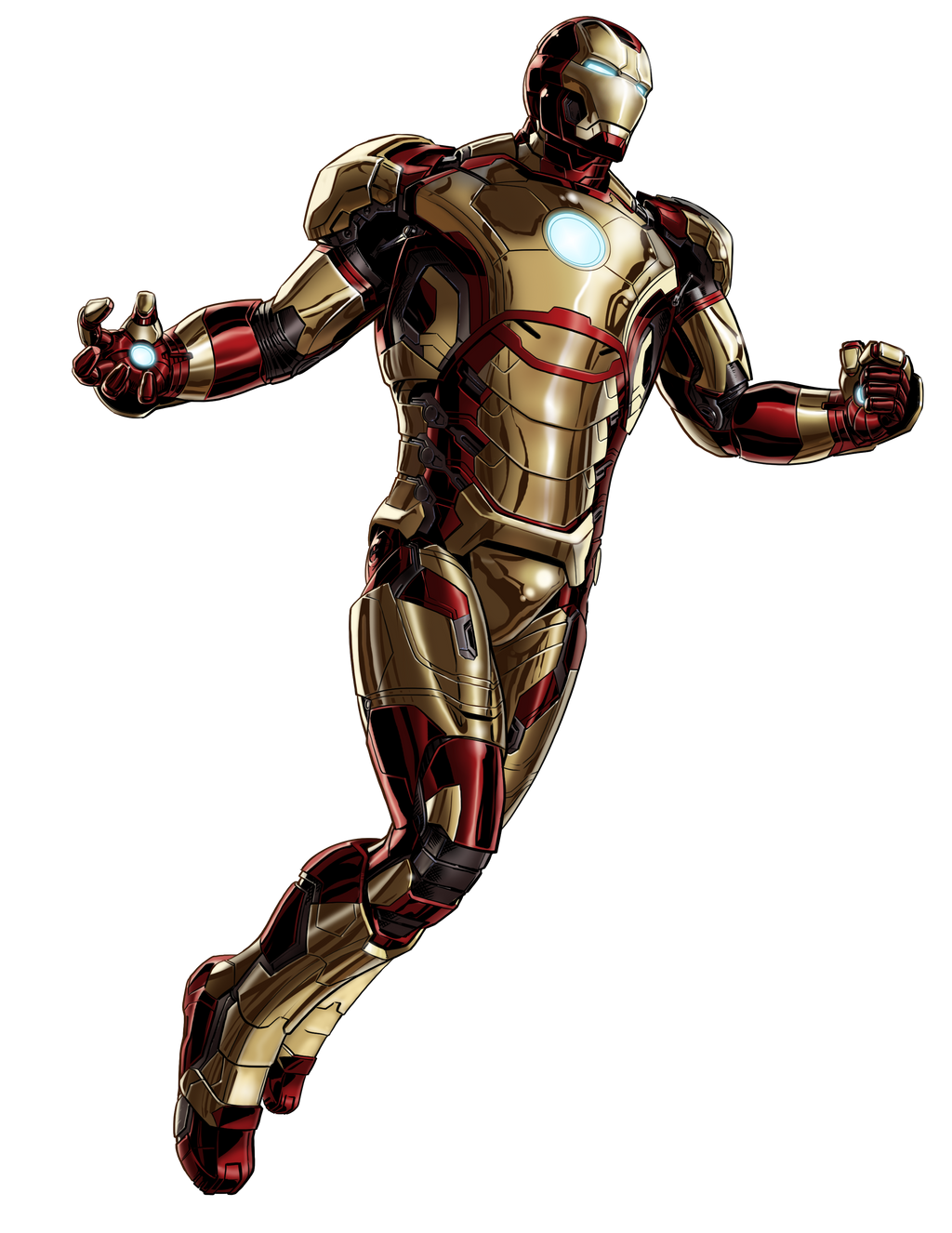 Marvel Avengers Alliance Ironman Mark 42 by ratatrampa87 ...
