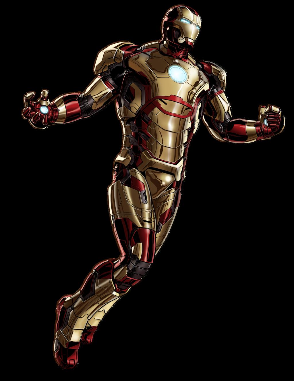 Marvel Avengers Alliance Ironman Mark 42 by ratatrampa87 ...