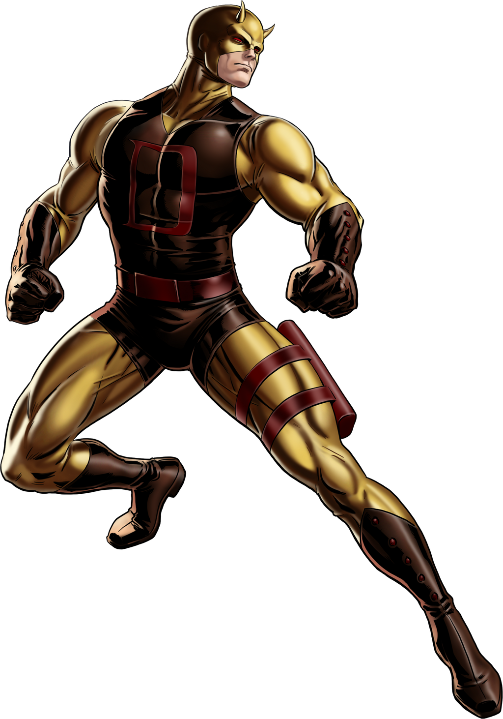 Marvel Avengers Alliance Daredevil Alternate C by ...