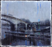 Pintando bajo la lluvia
