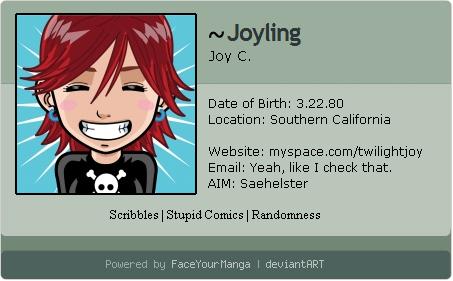 FYM Deviant ID by Joyling