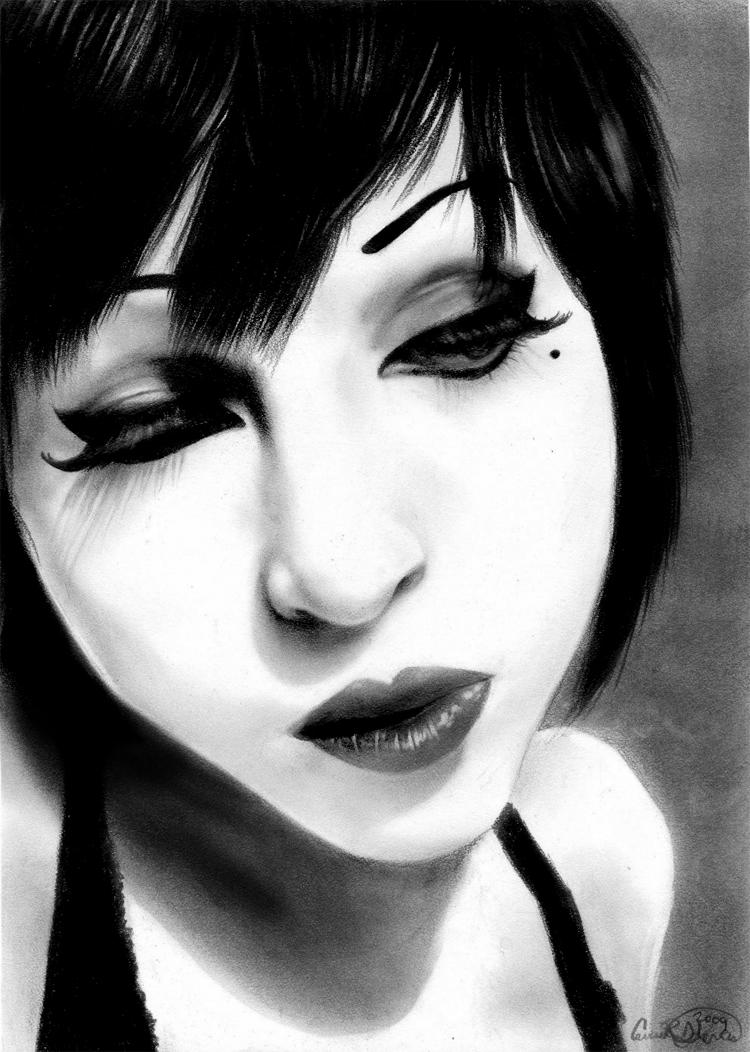 self portraitor by misscarissarose