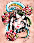 Gyspy Snake Tattoo Inspired