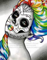Spectrum Series - Rainbow by misscarissarose