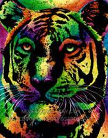 Tiger by misscarissarose